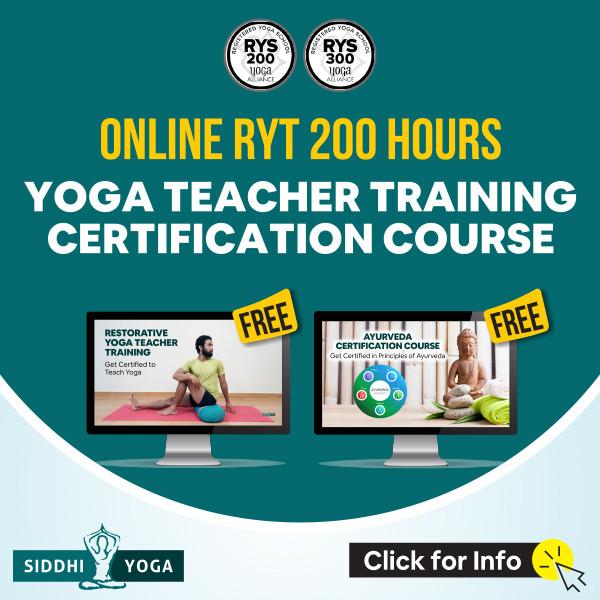 siddhi yoga teacher training online
