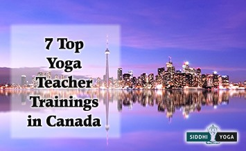 yoga teacher trainings schools in canada
