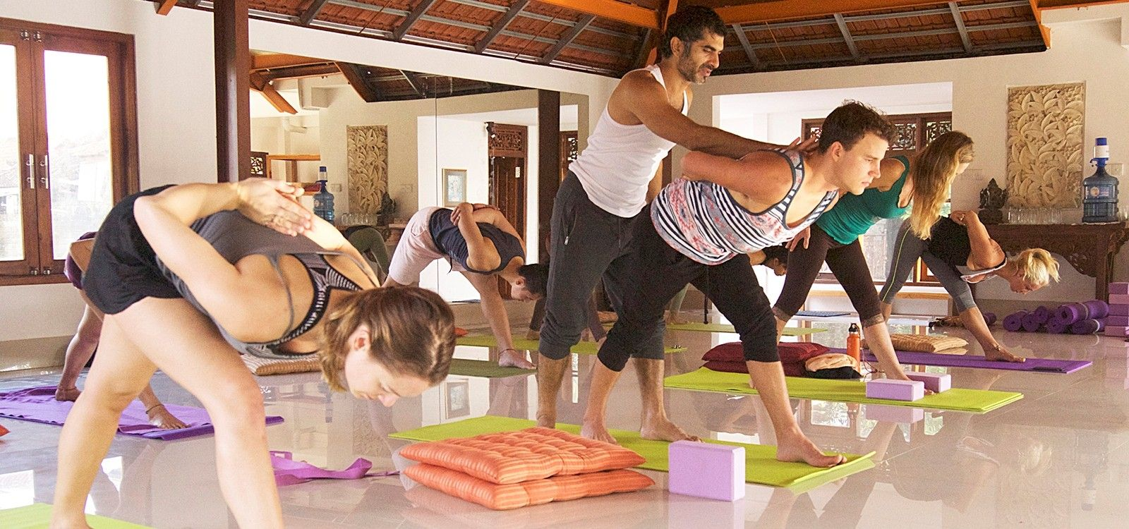 indian yoga teacher deep