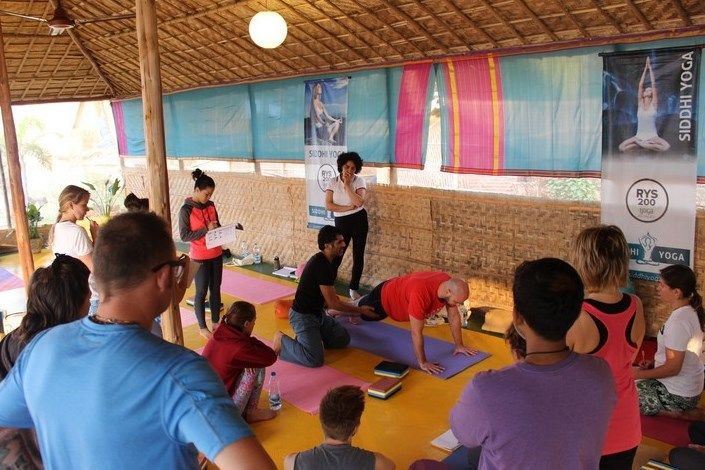 hatha yoga teacher training ashram india