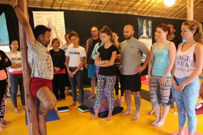 best 200 hour yoga teacher training india