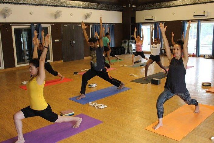 top yoga teacher training courses india