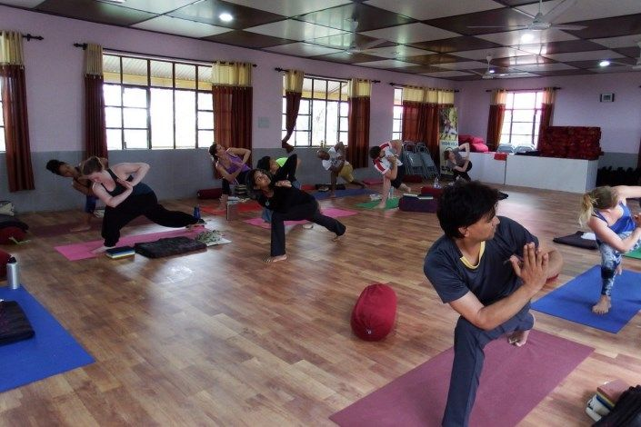 flow yoga teacher training india