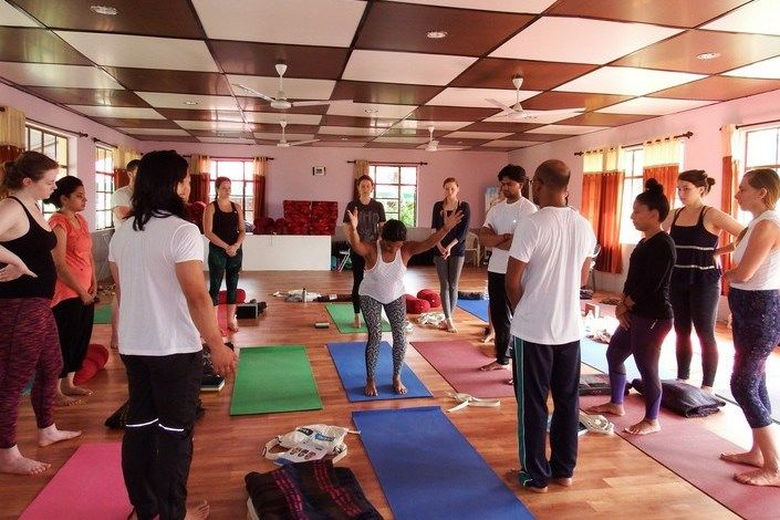 best place for yoga teacher training india