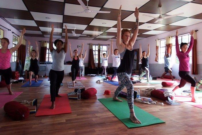 traditional hatha yoga teacher training india