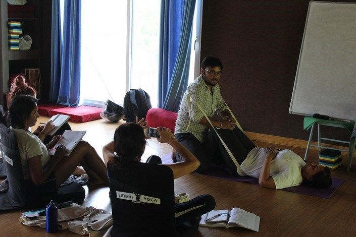 siddhi yoga instructor training in india