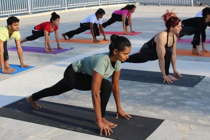 luxury yoga teacher training india