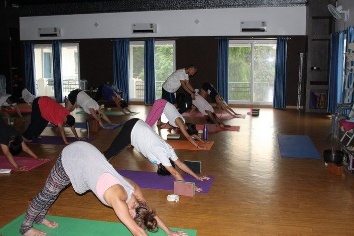 one month yoga teacher training india