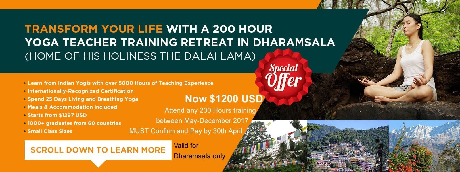 yoga teacher training dharamsala promotion