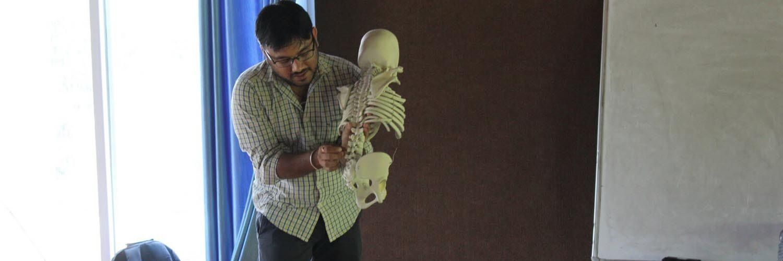 indian yoga anatomy teacher