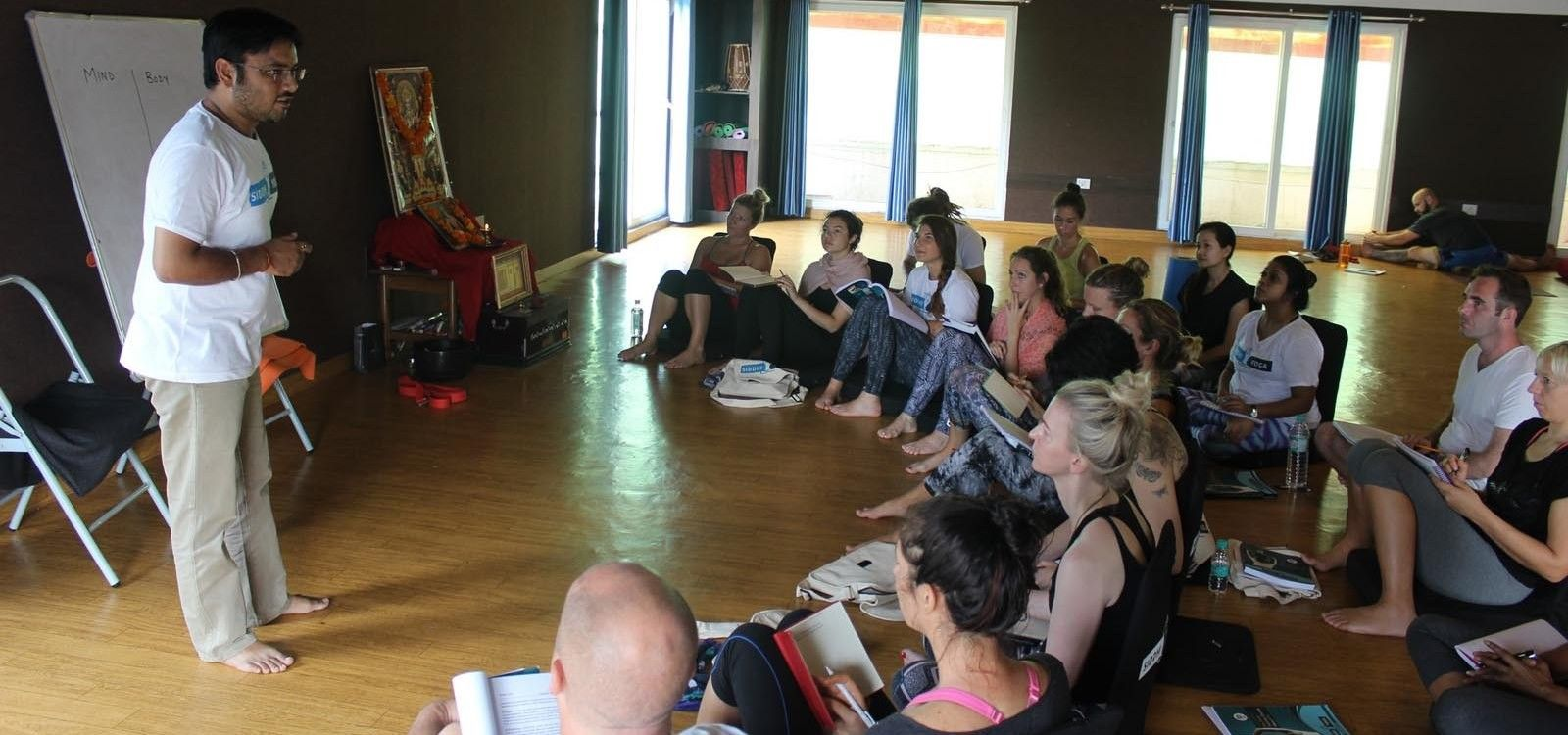 indian yoga teacher dr. sumit