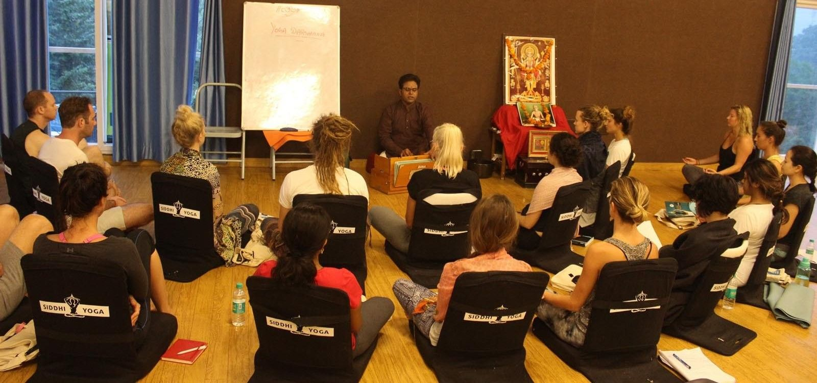 indian yoga teacher siddhartha veer