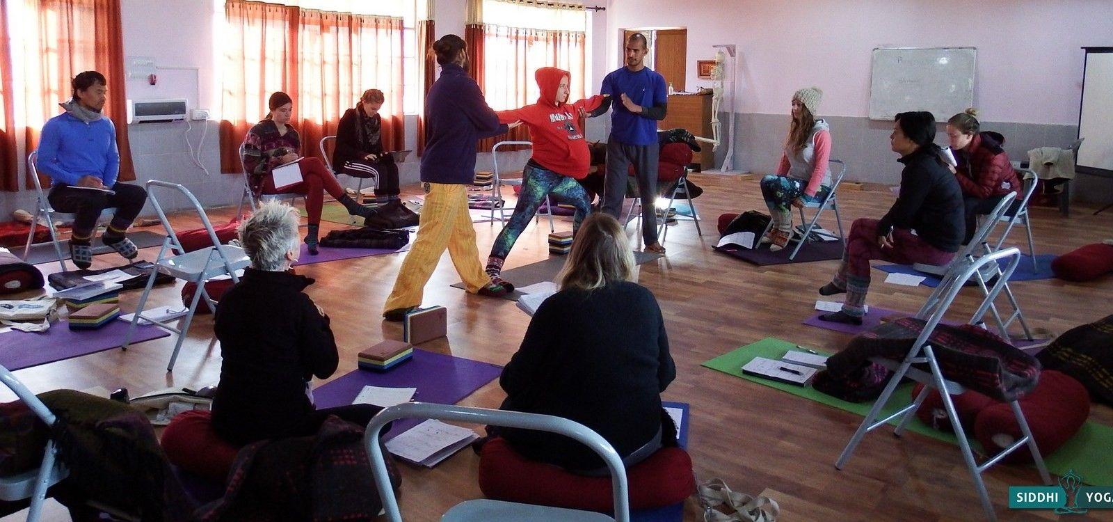 indian yoga teacher tara datt