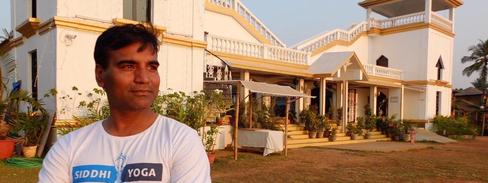 ritesh indian yoga teacher goa