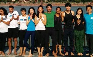 my yoga training in rishikesh
