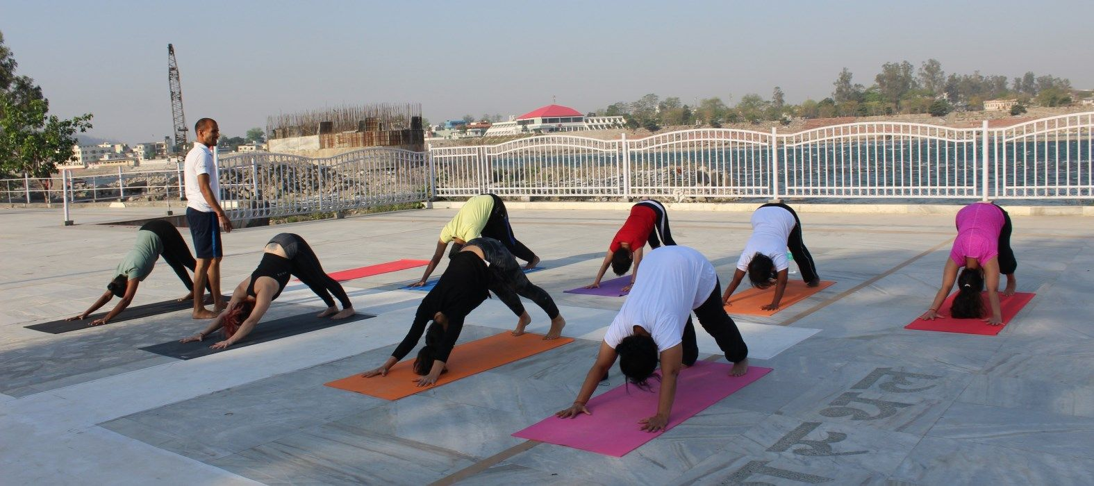 yoga in rishikesh near ganga