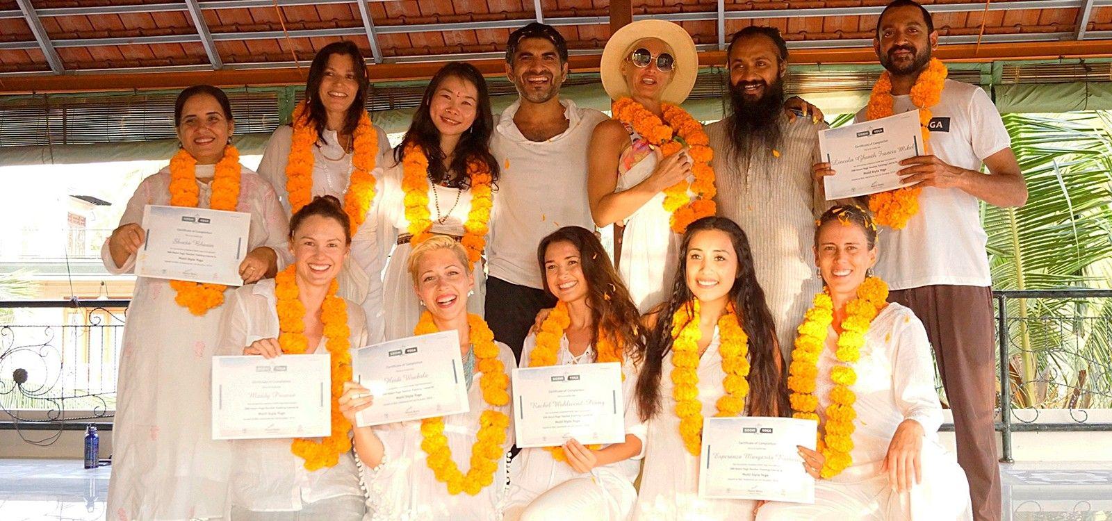siddhi yoga teacher training certification bali