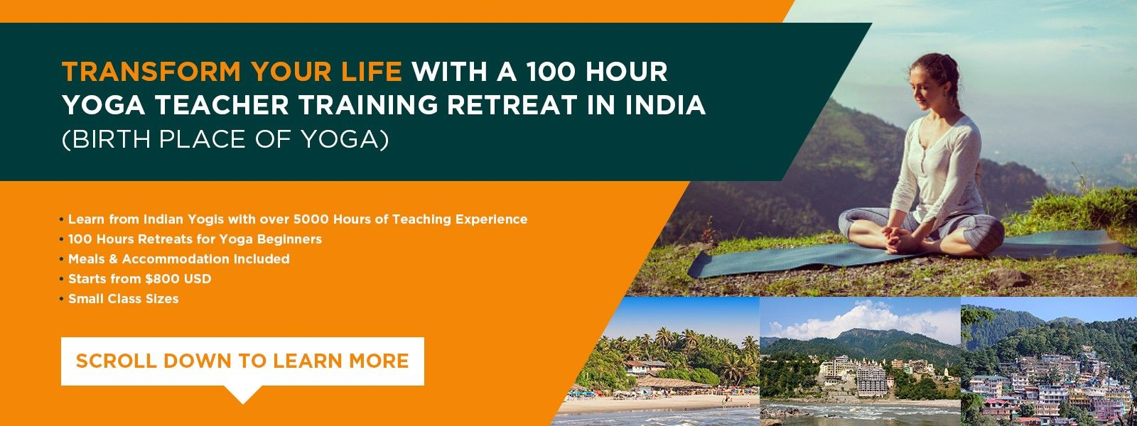 yoga retreat india