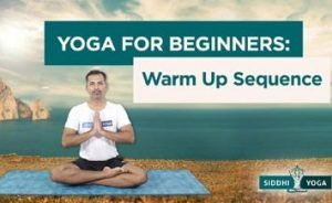 yoga warm up sequence for beginners