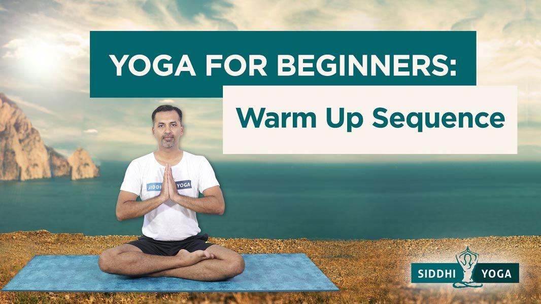 yoga warm up sequence