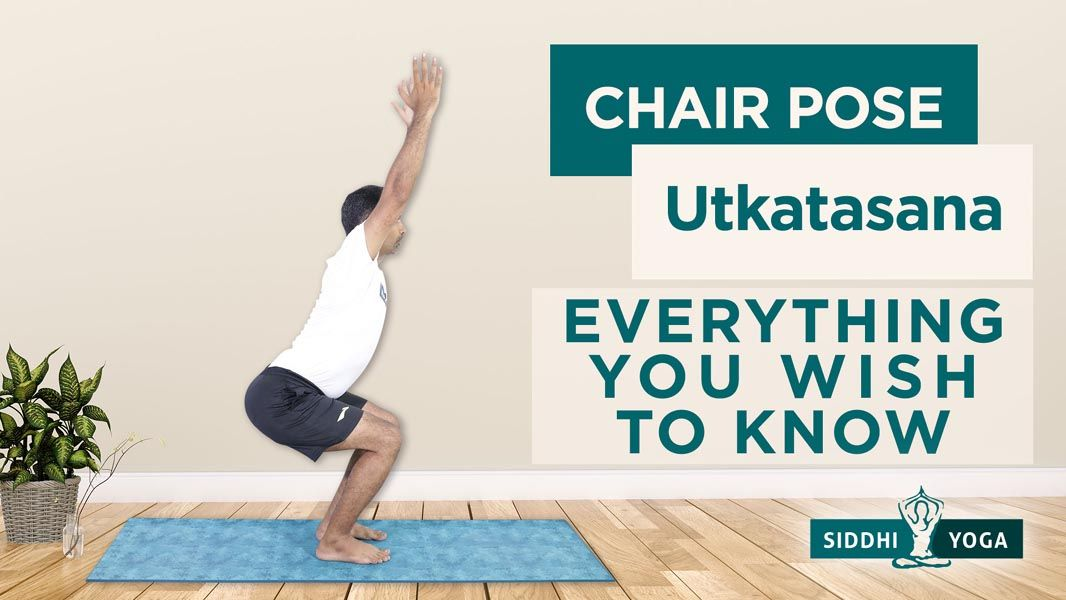 utkatasana chair pose