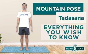 tadasana mountain pose benefits how to do