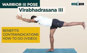 virabhadrasana iii warrior iii