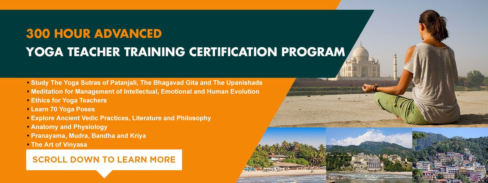 300 Hour Advanced Yoga Teacher Training Certification In India