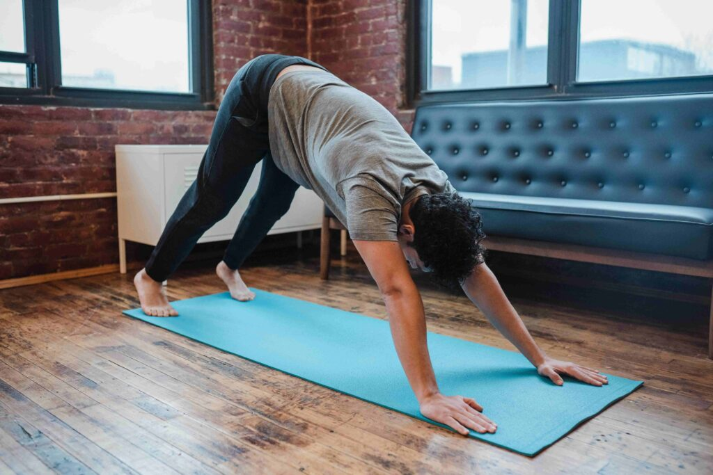 The inversion yoga poses