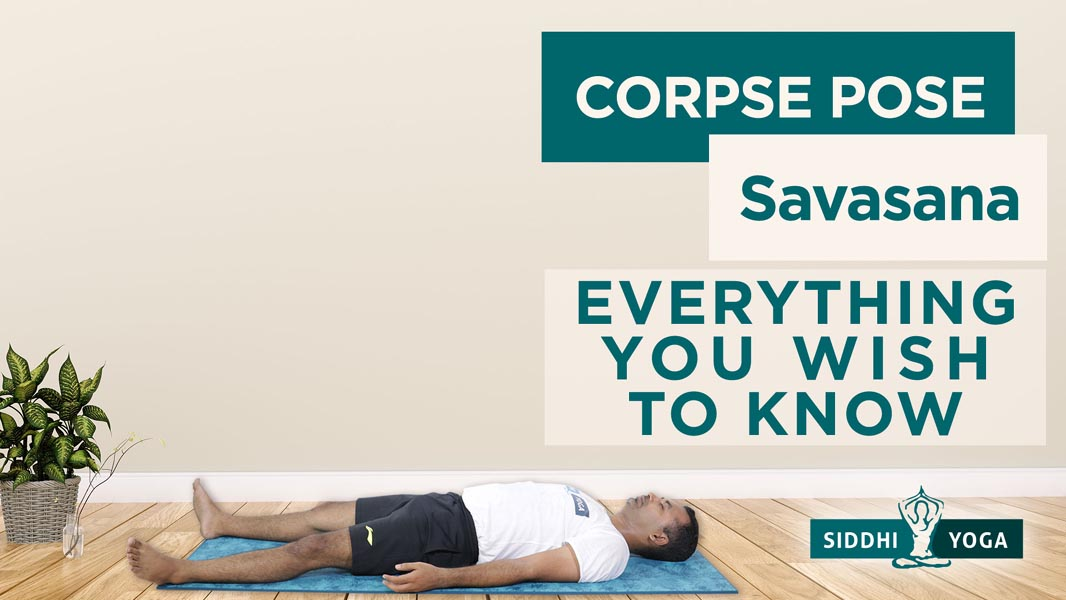 corpse pose savasana
