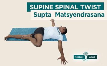 supine spinal twist supta matsyendrasana banner
