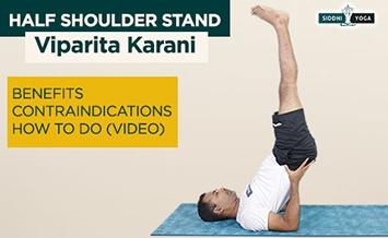 viparita karni half shoulder stand