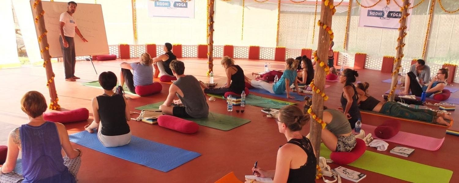 siddhi yoga goa training
