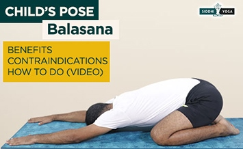 pose de balasana childs