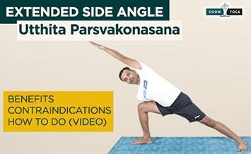 parsvakonasana extended side angle