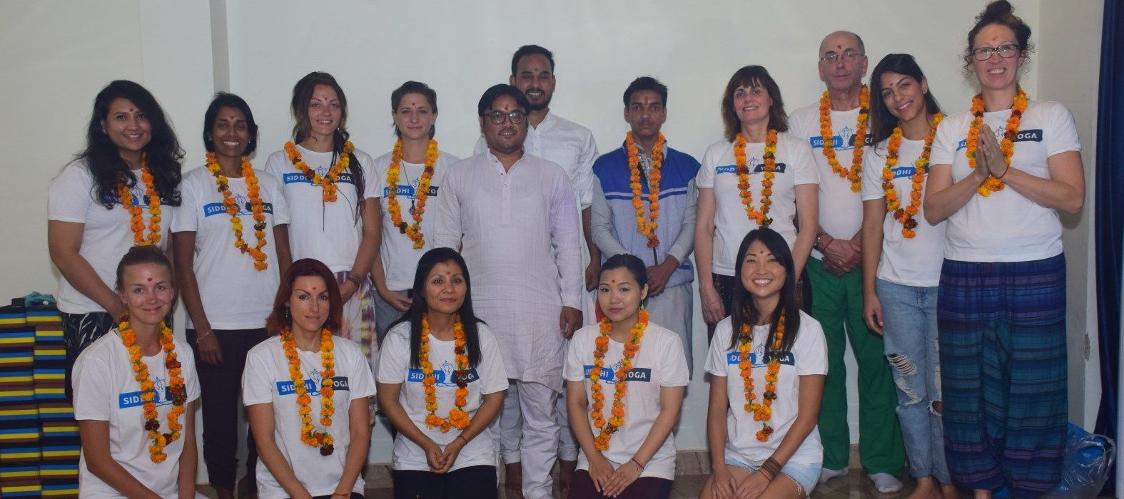 siddhi yoga rishikesh opening ceremony group