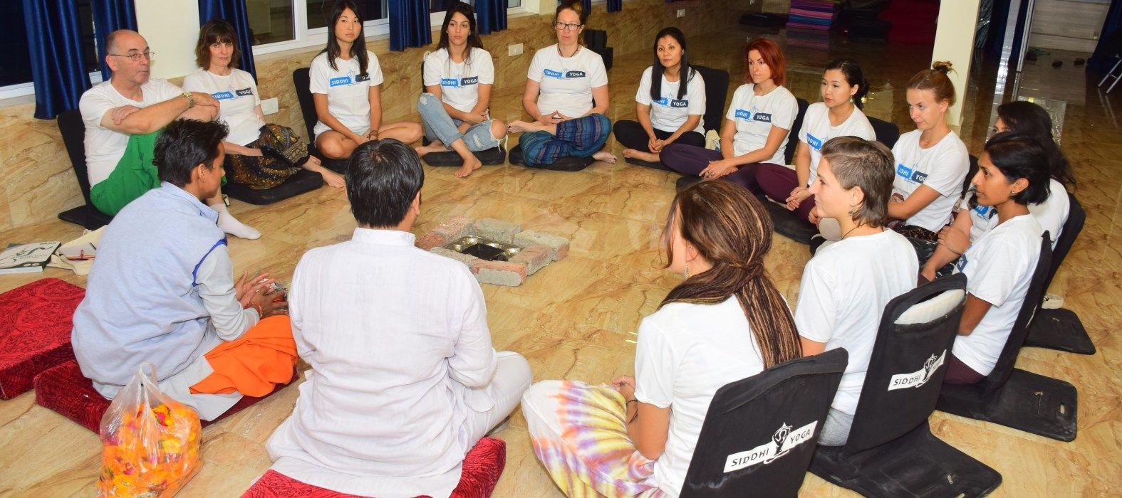 siddhi yoga rishikesh opening ceremony