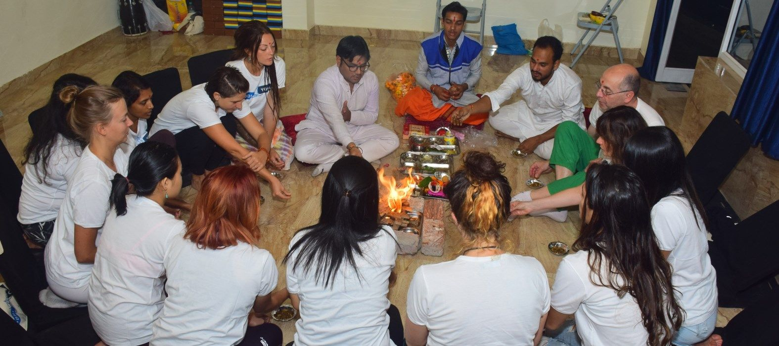 yoga teacher training rishikesh opening ceremony