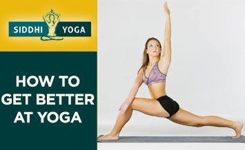 get better at yoga