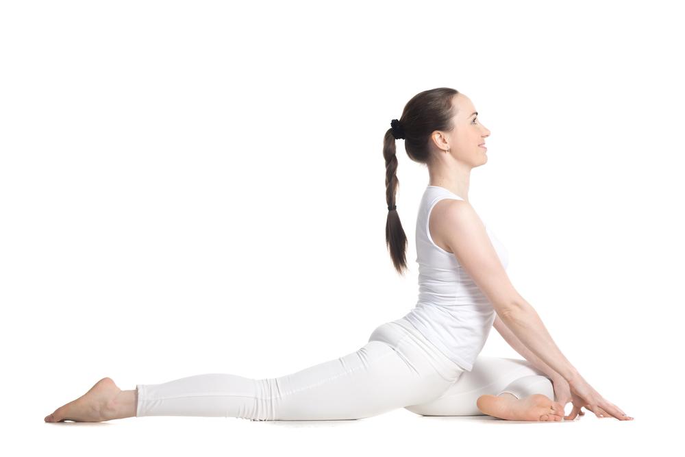 pigeon hip stretch