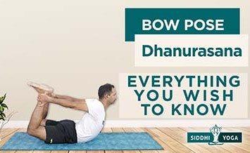 Dhanurasana benefits