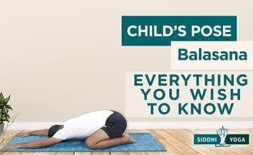 balasana child pose