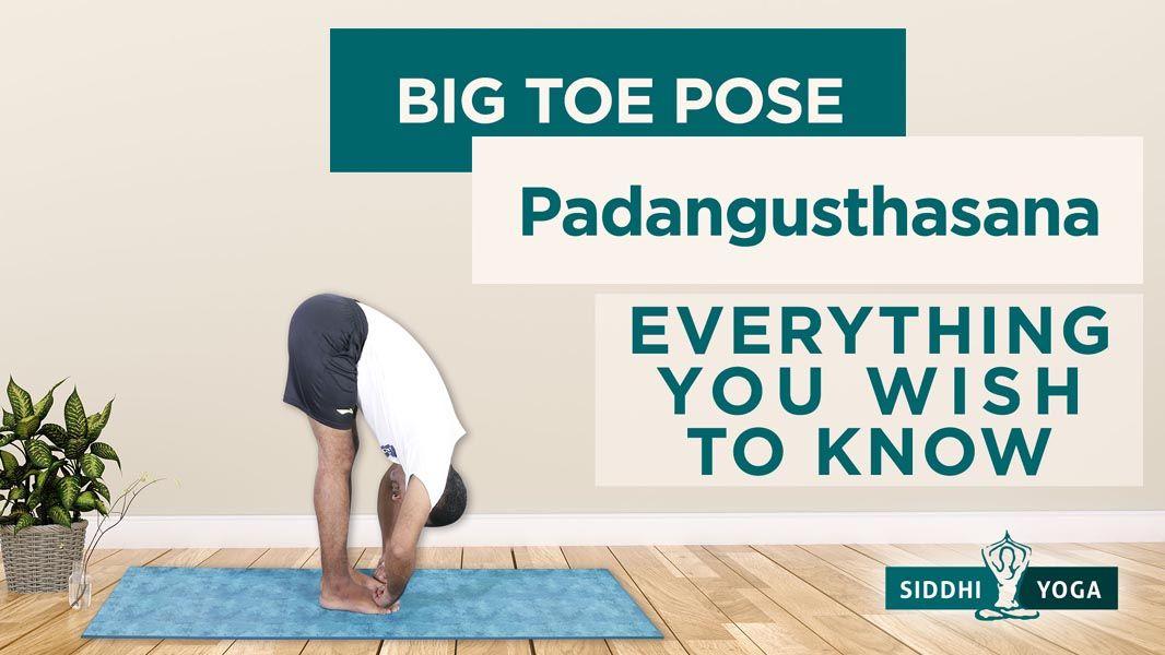 big toe pose padangusthasana