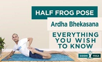 Half Frog Pose