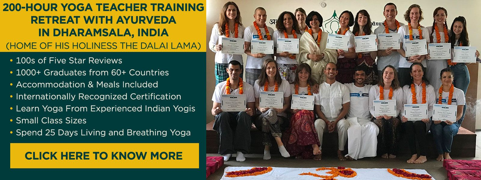 yoga teacher training india 2018-2019