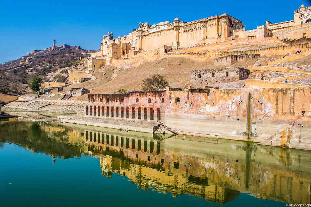 golden triangle amber fort jaipur