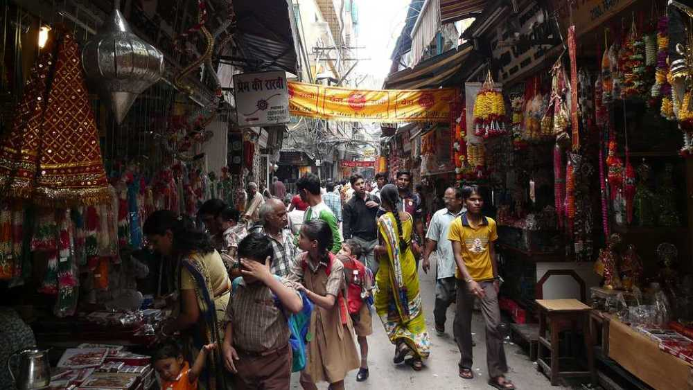 golden triangle kinari bazar agra