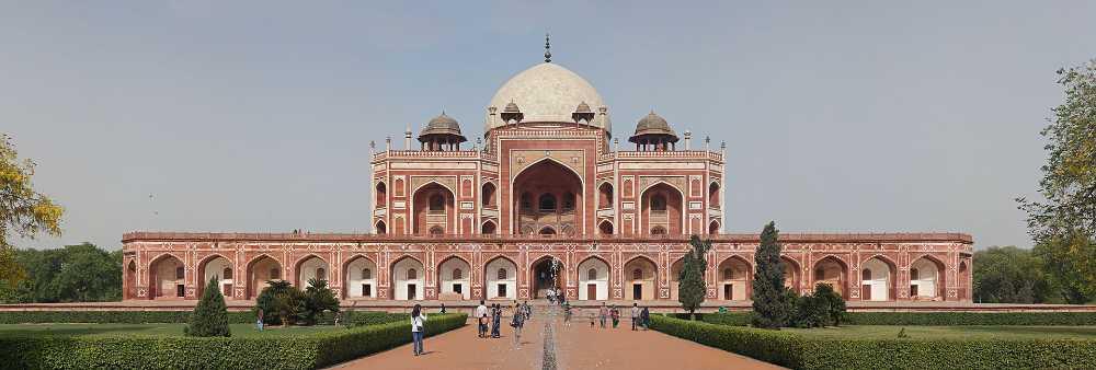 holidays to india golden triangle humayun tomb delhi