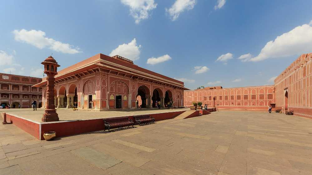 the golden triangle india city palace jaipur