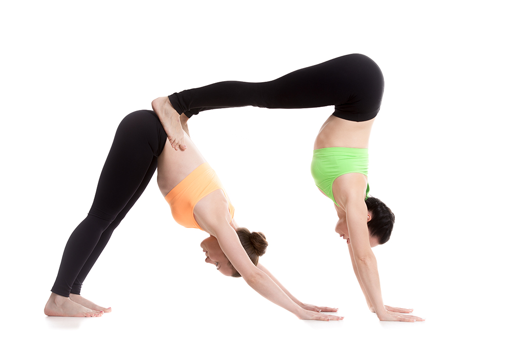 two person yoga poses